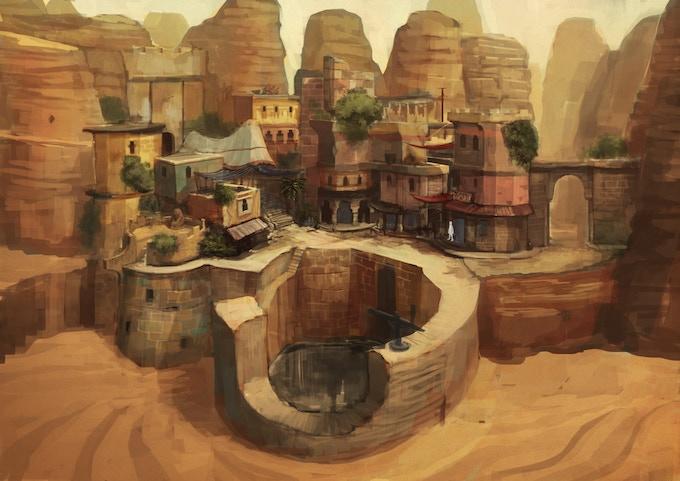 Amon's home village