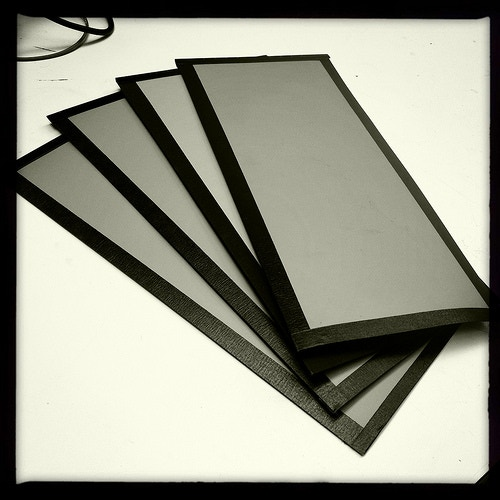 New55 FILM handmade samples (manufactured sheets will come 5 per box)