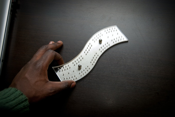 Industrial WAVE cribbage board