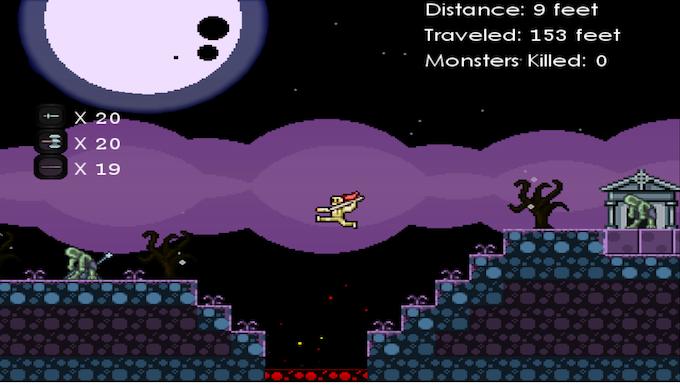 The daring jump!!