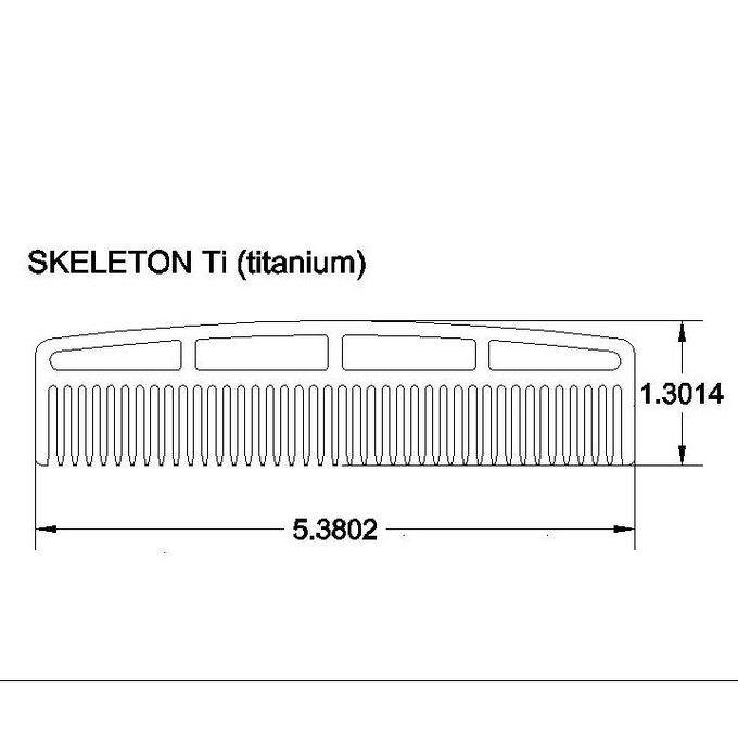 CAD drawing of the SKELETON Ti