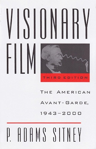 Signed copy of Visionary Film: The American Avant-Garde, by P. Adams Sitney