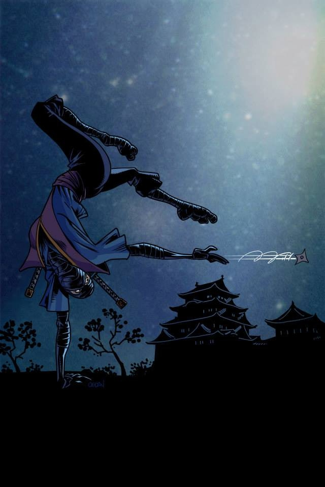 Ninjit-Sue by Steve Ogden