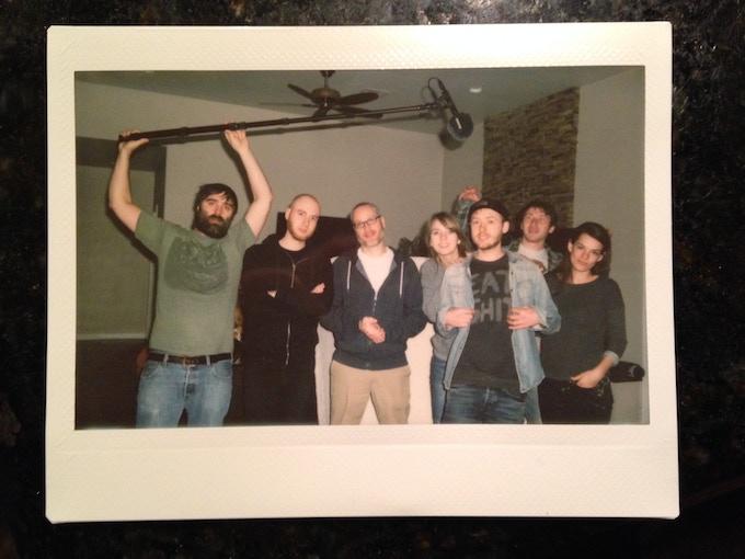 Crew Photo - Las Vegas / January 2014                      - from left to right Scotty Tipton, Isaac Bauman, Martin Gatto, Cass Greener, Sean Dunne, Carmichael David, Maura McNamara
