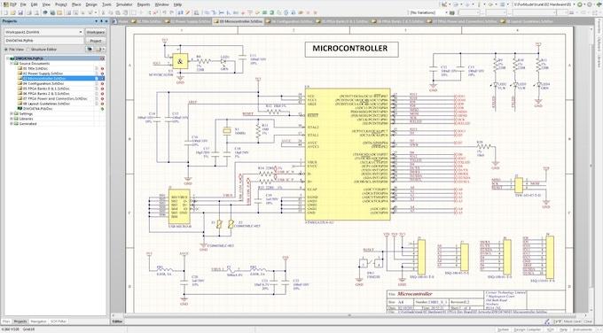 Prototype schematics