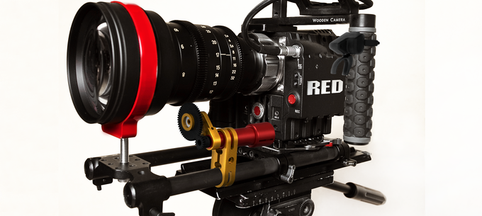 Silencer 19mm (shown with one motor and trigger) concept art. RED camera picture courtesy of MI6Films.com