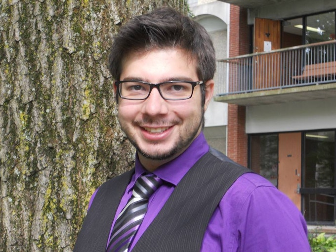 Antony Discenza; musician, actor, playwright, and business student at Queen's University. Member of the cast!