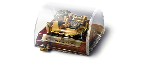 This awesome 18 note Music box comes with an acrylic box and plays the DFS theme melody. This item is part of the Music Box 1.0 Tier. To listen to a sample check out the Music box video in the music section!