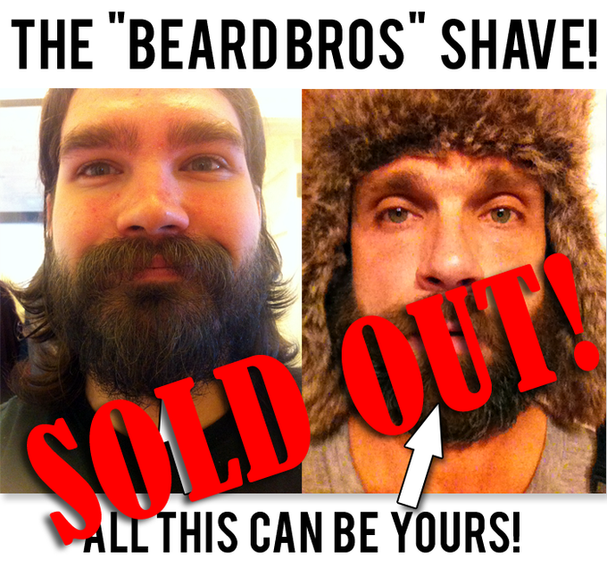Keep an eye out for the Shaving The Beard Bros video!