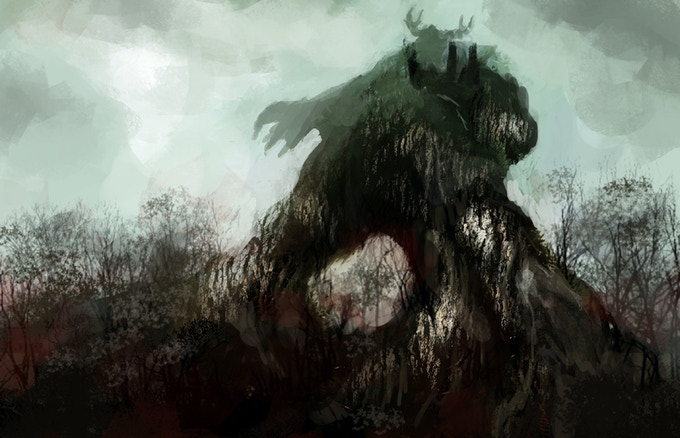 Concept Art: It seems on Orin Rakatha that sometimes the land itself is your greatest foe