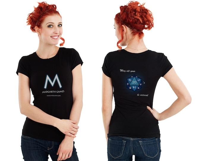 Midgarth Games t-shirt design