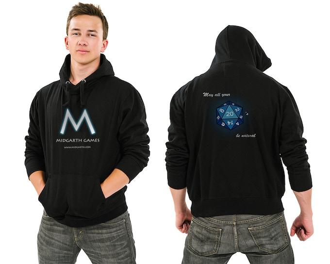 Midgarth Games hoodie design