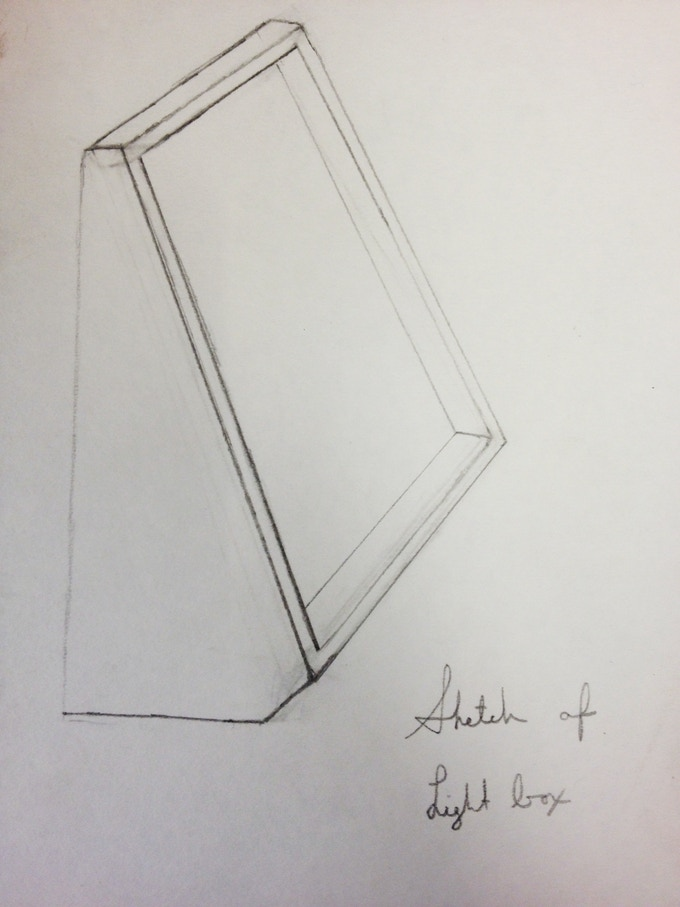 Sketch of Light box