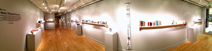 The Shared Ground Project exhibition at BYU's 303 Gallery, photo by Prof Joe Ostraff