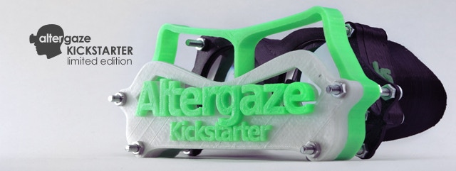 (£150) Show your support! The Altergaze Kickstarter is a limited edition, exclusive for Kickstarter backers.