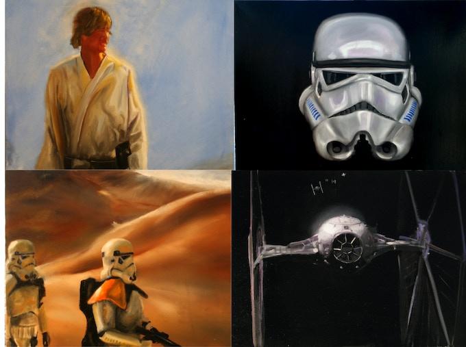 $300 level paintings Rewards #25 # 26 #27  & #28