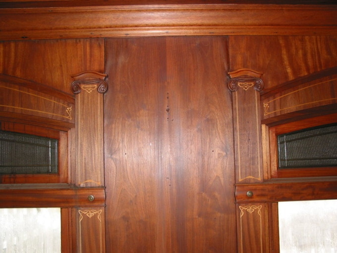 The Barney & Smith Car Company hired the finest skilled French artisans to do all of their beautiful woodworking. This work is remarkably done and the quality is second to none.