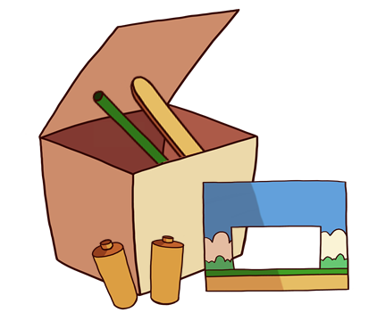 Construction Pack (illustration only, not all materials are depicted)