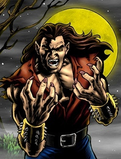 The Galactic Wrestling Federation's most unpredictable fighter is the savage Wolf.  Wolf is fiercely independent: he needs no friends or allies.  His finisher, the SAVAGE FACE-CLAW, is one of the most dangerous finishers in the galaxy. Ooowwww!