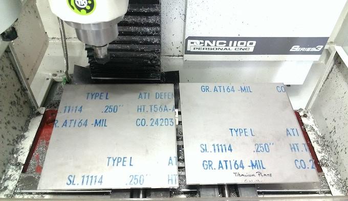 """1/4"""" Grade 5 Titanium (Notice Mil-Spec)"""