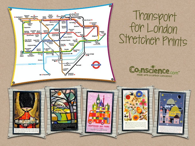 Some of our Transport for London Stretcher Prints...