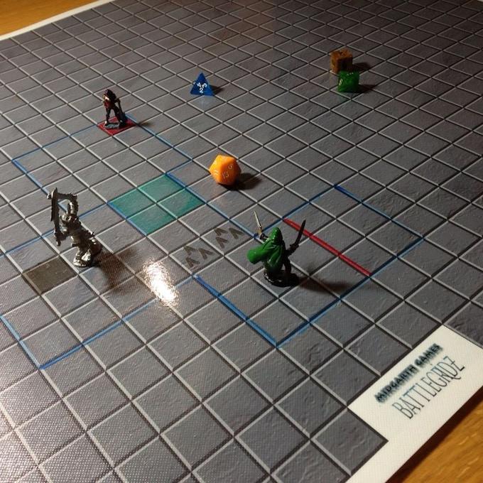 Dwarven Dungeon Grid
