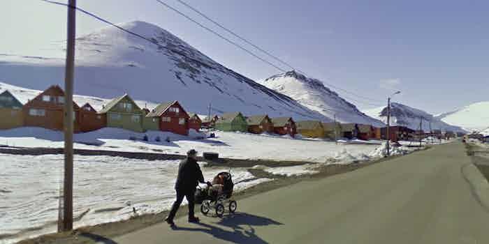 Longyearbyen: Street View