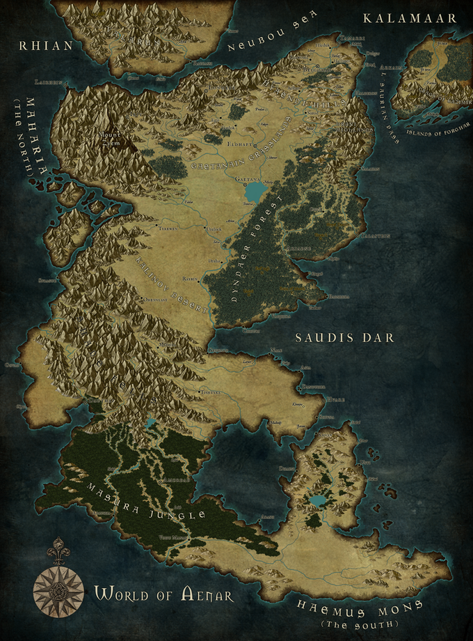 """""""Aenar,"""" the setting of VOID. [click for 23MB hi-res!!]"""