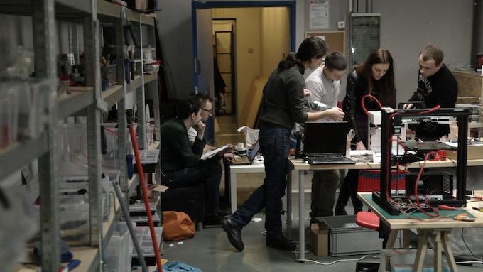 3D printer assembly line
