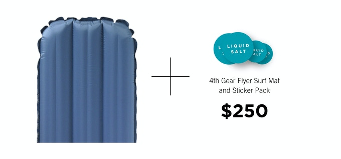 Limited Edition 4th Gear Flyer™ Surfmat by Paul Gross.