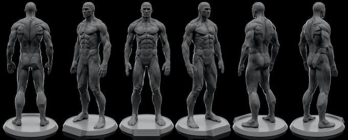 3D Render of Final Sculpt