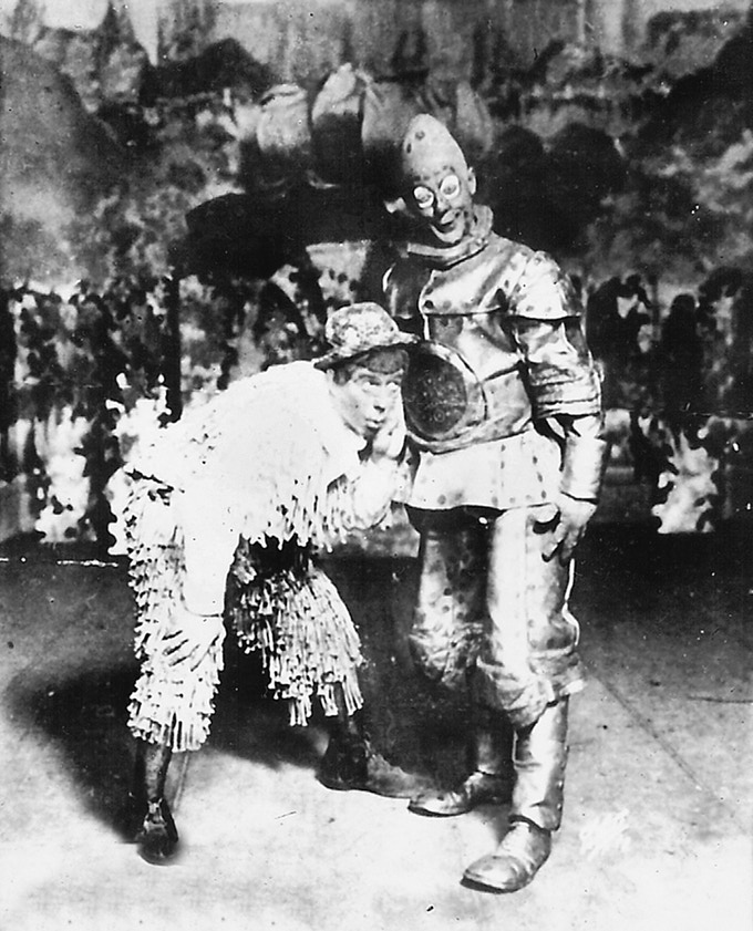 The Shaggy Man and Tik-Tok in 1913