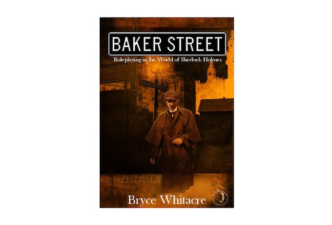 A look at our concept for the Baker Street RPG softcover.