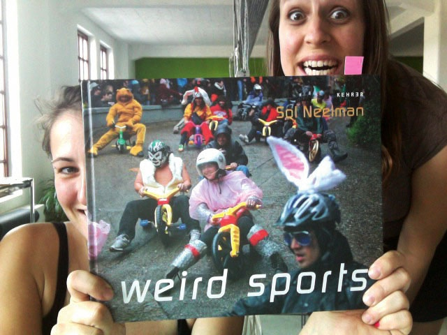 Yes, the people at Kehrer can be very weird!