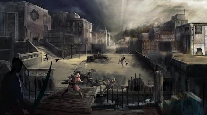 """Building Warfare"" by Sonny Lavallée."