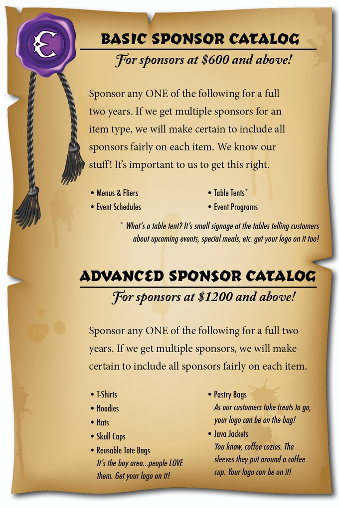 Basic and Advanced Sponsors