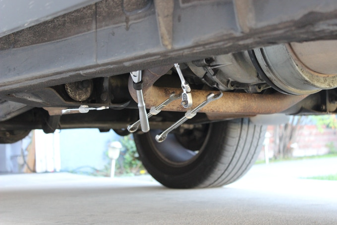 Very handy when you're working underneath your car.
