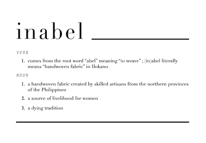 Inabel Modern Design From A Centuries Old Tradition By Ava