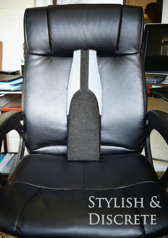 The sleek design will compliment both modern and vintage chairs
