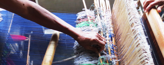 Every thread, every knot, meticulously designed by the master weavers of Ilocos, the Philippines