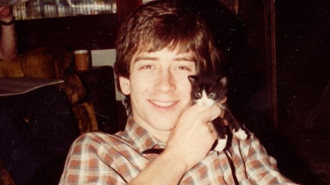 Steve and the culprit cat