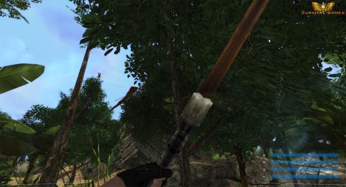 Glider down! (In-game screenshot)