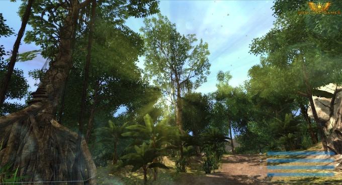 Shot of the environment (In-game screenshot)