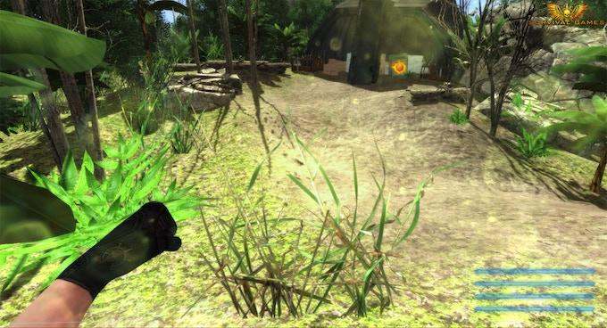 Rushing to the Trove unarmed (In-game screenshot)