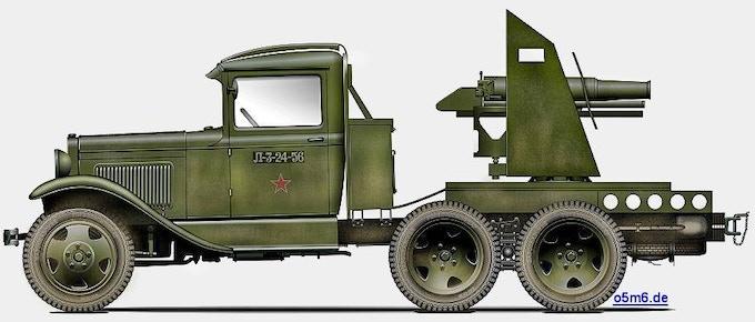 GAZ AAA SU-1-12 Gun