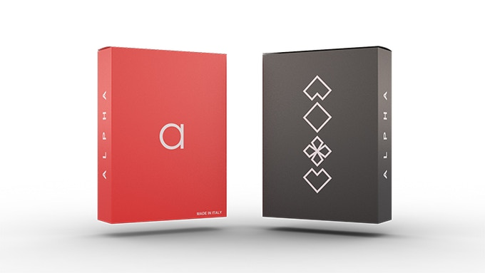 The Alpha Deck: Red and Black editions