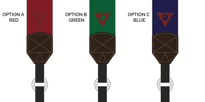 The 3 options for the new Backers' Choice strap