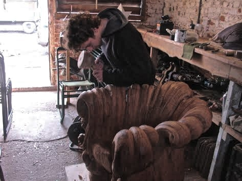 Alex the sculptor/carpenter for Bee-Composed