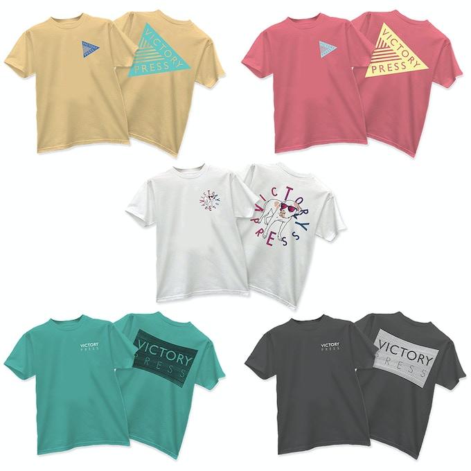 Victory Press T Shirt ($35)