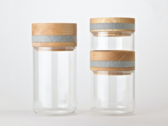 Our Obtineo Storage Jars have been designed to nestle on top of each other.
